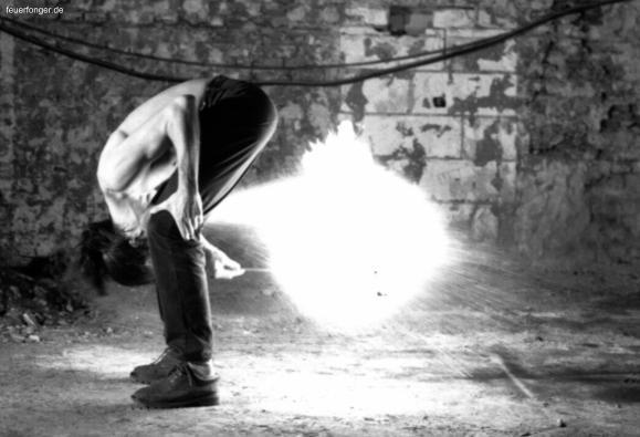 Tricks für Feuerspucker: eine Sammlung